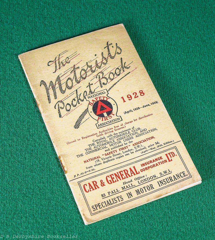 Motorist's Pocket Book   1928
