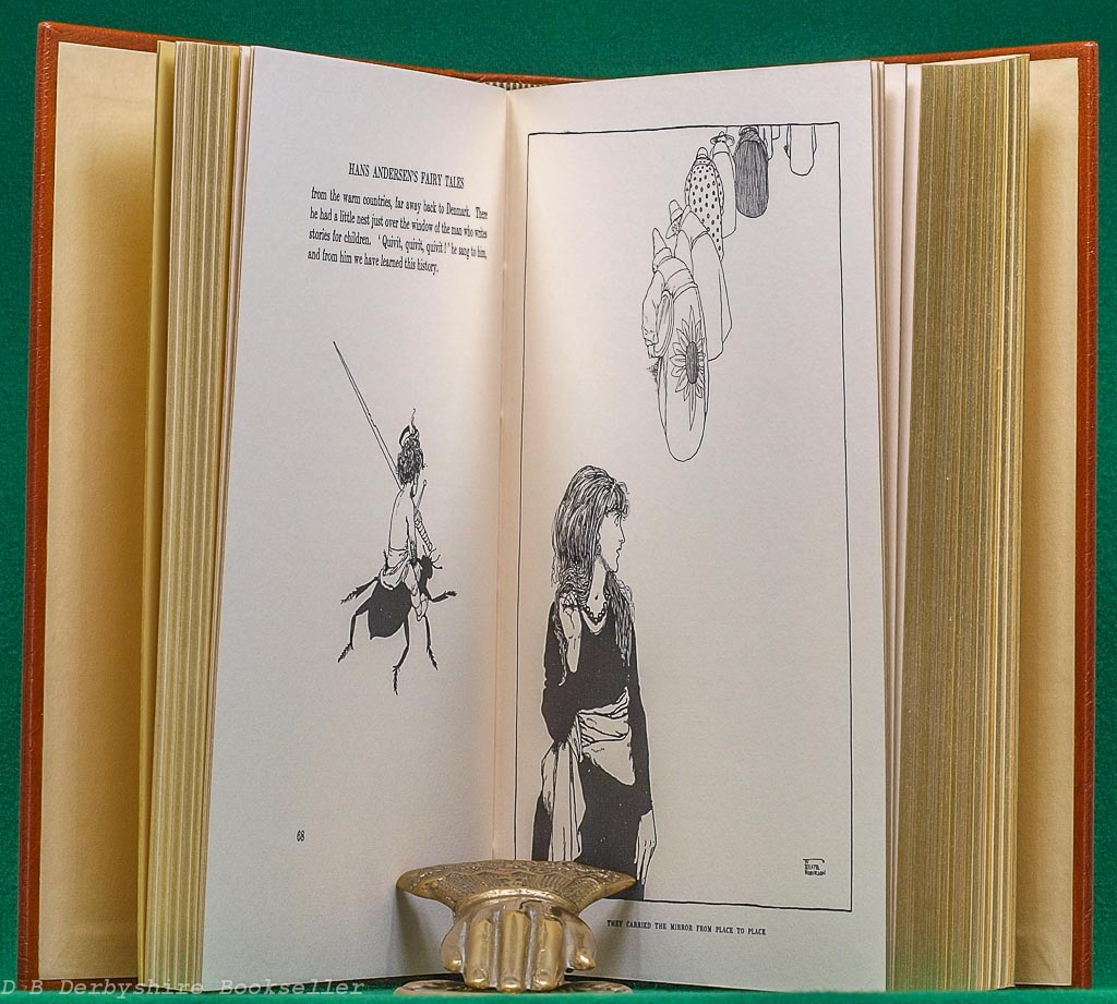 Hans Andersen's Fairy Tales | Hodder and Stoughton, facsimile 1980 | Leather Limited Edition #239/500
