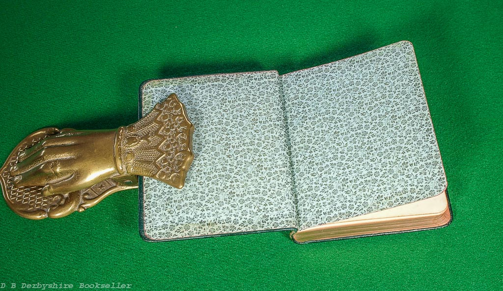 Birthday Chimes from Longfellow   Nimmo, Hay and Mitchell, circa 1890s   Leather Binding