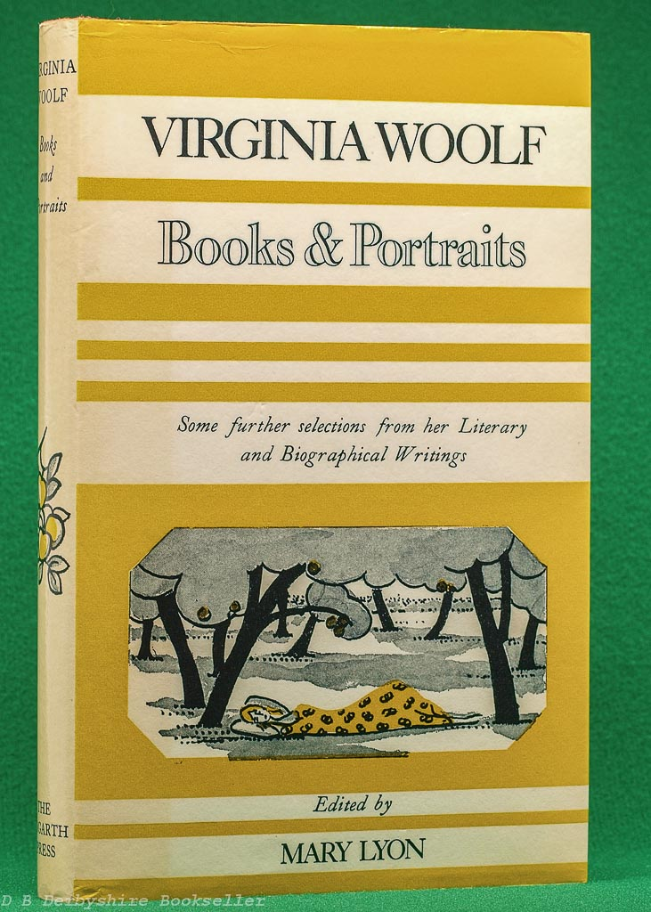 Books and Portraits by Virginia Woolf   pubished by The Hogarth Press