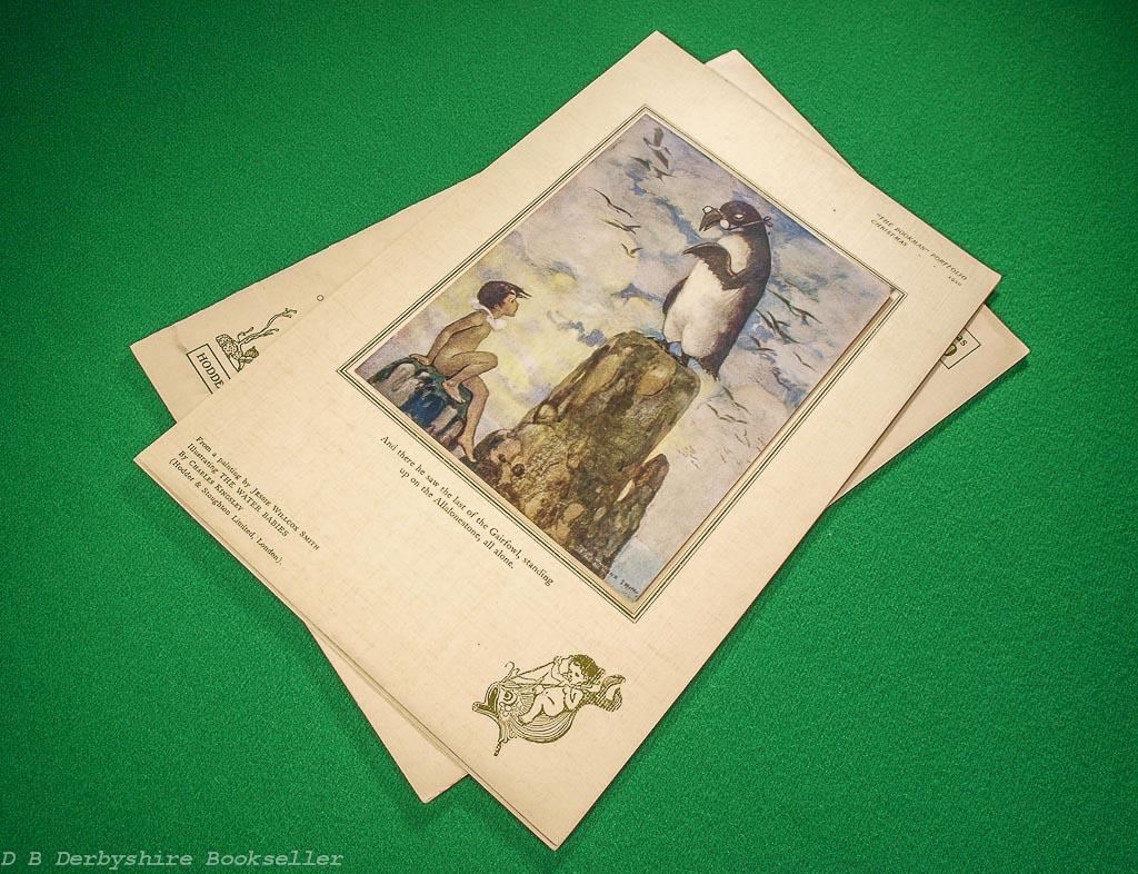 The Bookman Portfolio | Christmas 1920 | Jessie Wilcox Smith | The Water Babies