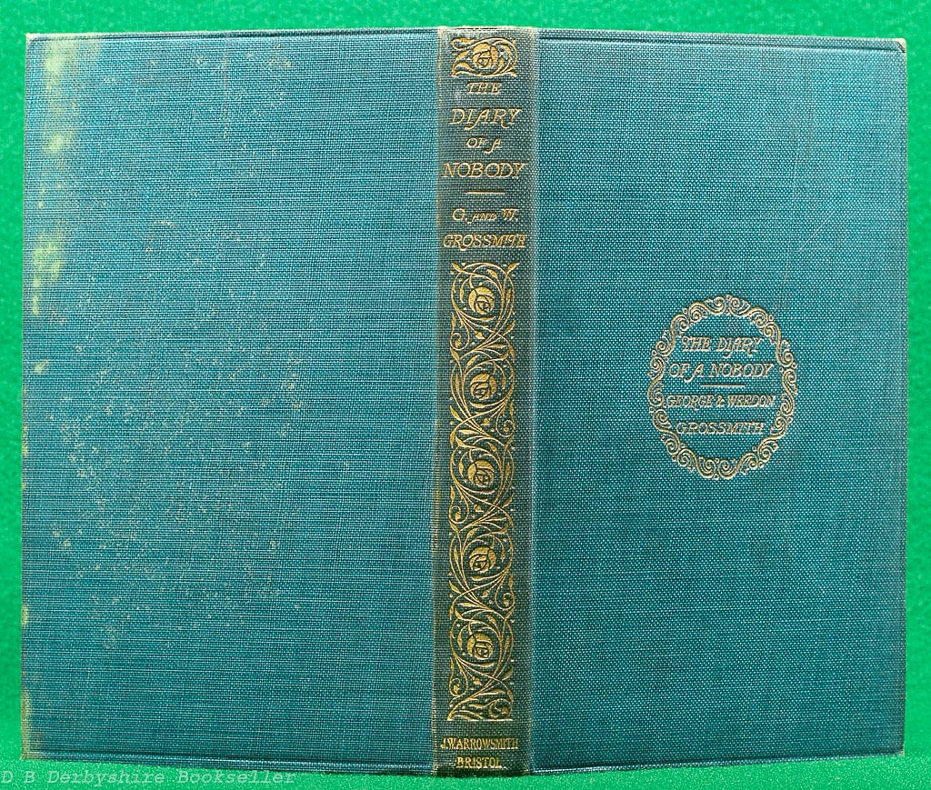 The Diary of a Nobody | George & Weedon Grossmith | J. W. Arrowsmith, 5th edition 1910
