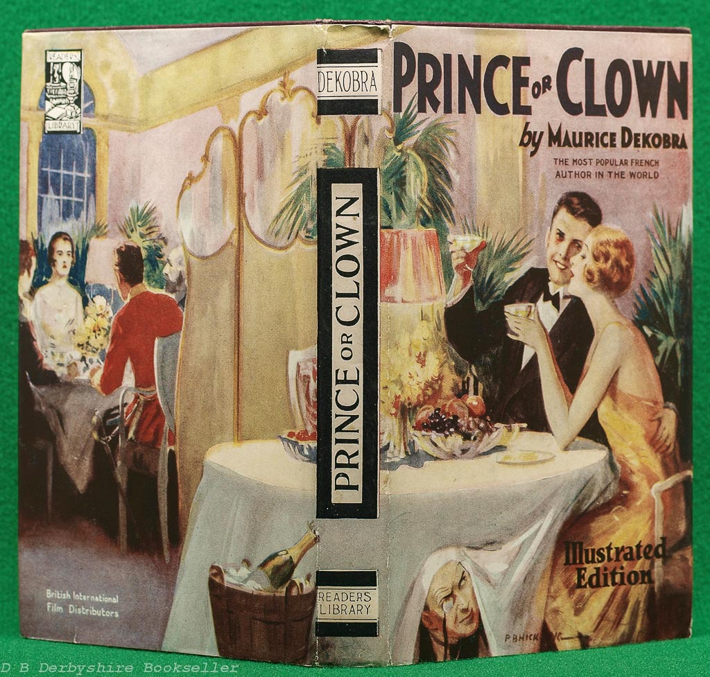 Prince or Clown | Maurice Dekobra | Readers Library, circa 1928 | Illustrated Photoplay Edition