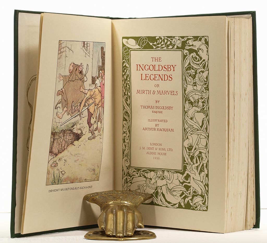 The Ingoldsby Legends | Thomas Ingoldsby | Dent, 1949 | illustrated by Arthur Rackham
