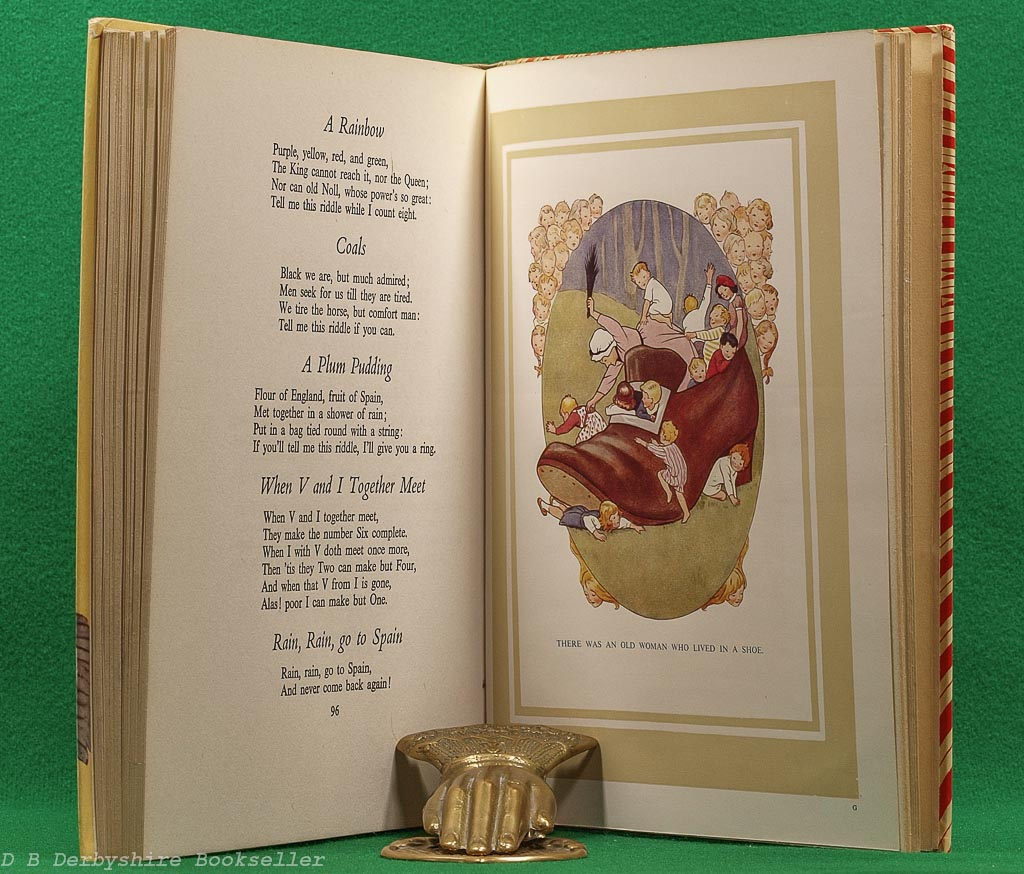 Mother Goose Nursery Rhymes | Ward, Lock & Co., Limited | The Sunshine Series