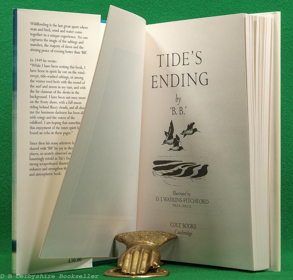 Tide's Ending | 'B.B.' | Colt Books, 1999 | illustrated by D. J. Watkins-Pitchford