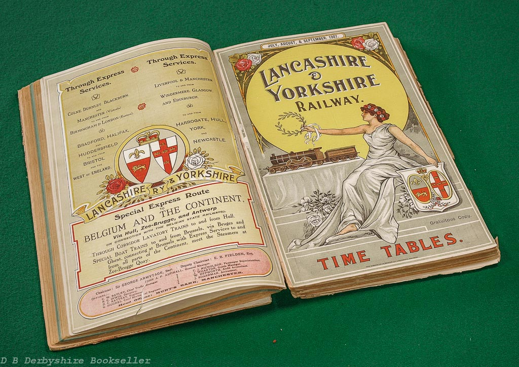 Lancashire and Yorkshire Railway | Time Tables | 1906/1907 | Original Publications