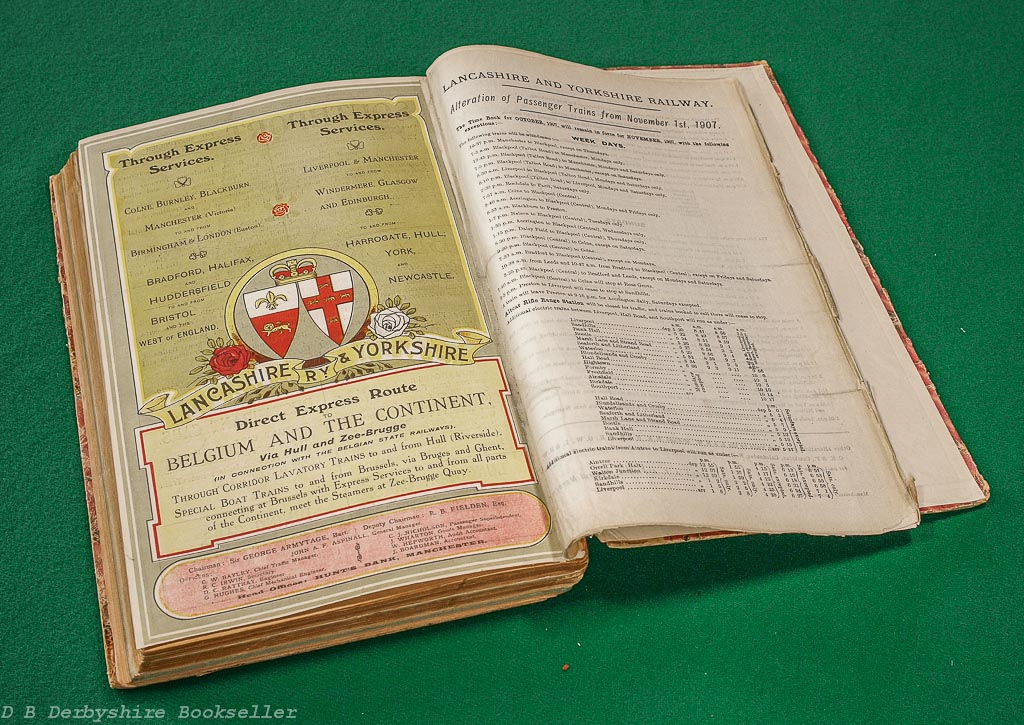 Lancashire & Yorkshire Railway | Time Tables | October 1906 | July, August, September 1907 | October 1907