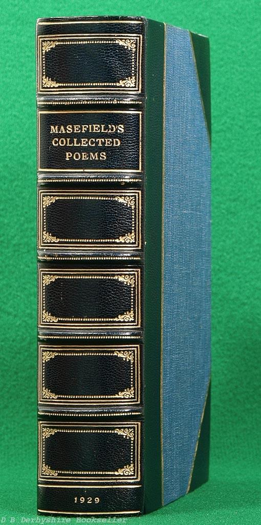 John Masefield (Heinemann, 1929) | Riviere & Son Binding