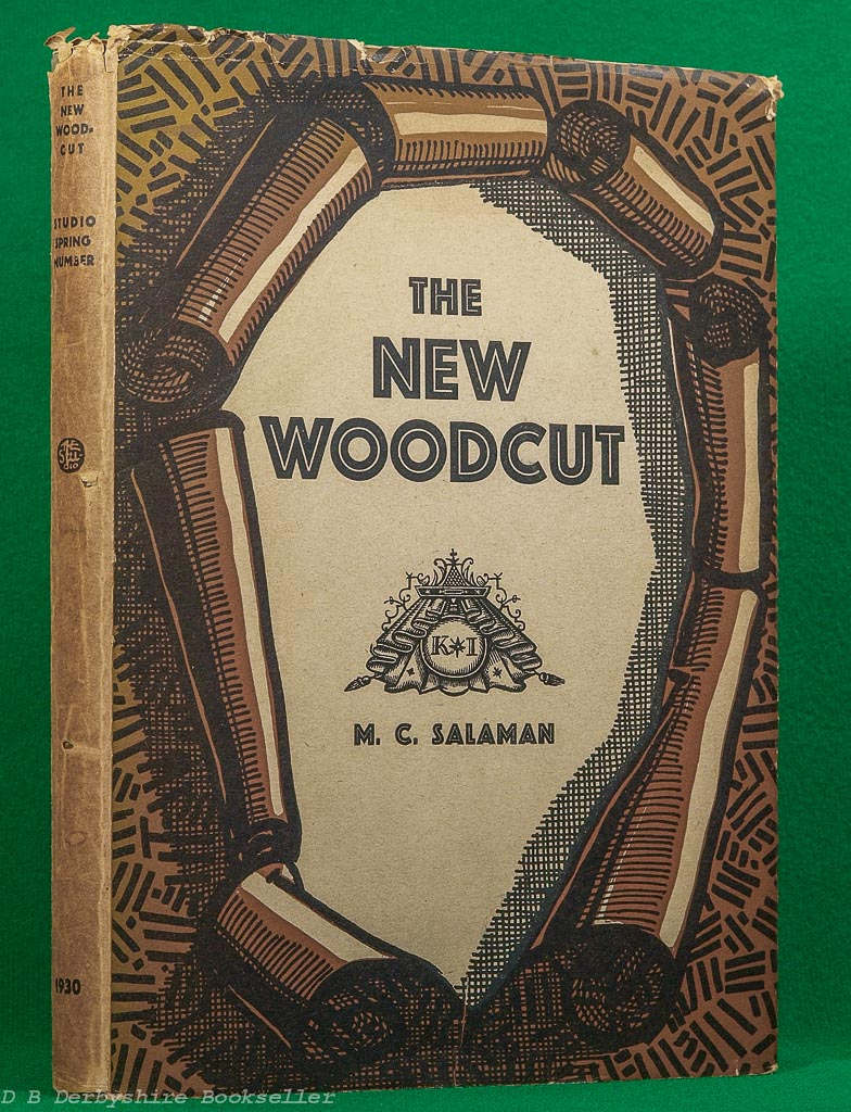 The New Woodcut | Malcolm C. Salaman | The Studio, 1930 | Special Spring Number | Bookplate of Francis Meynell