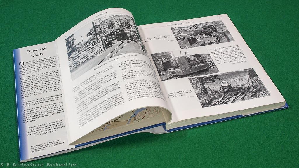 Immortal Rails | Peter Johnson | RailRomances, 2004 & 2005 | 2 volume set | Ffestiniog Railway 1939 - 1983
