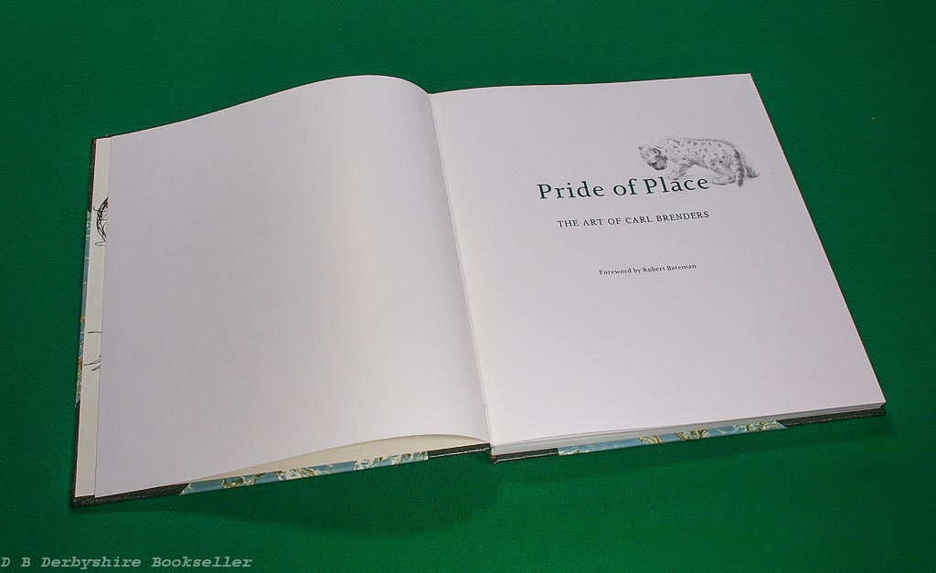 Pride of Place | The Art of Carl Brenders | Langford Press, 1st edition 2007 | Half Leather Binding in Slipcase