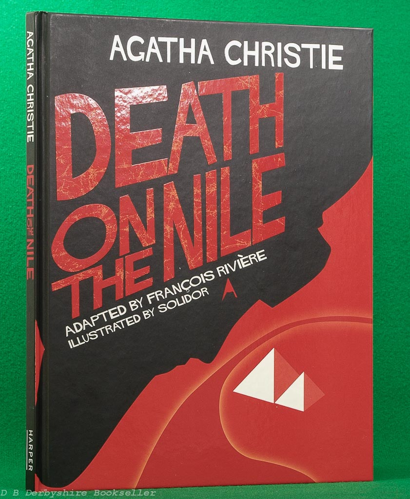 Death on the Nile | Agatha Christie | Harper, 2007 | graphic novel | adapted by Francois Riviere | illustrated by Solidor