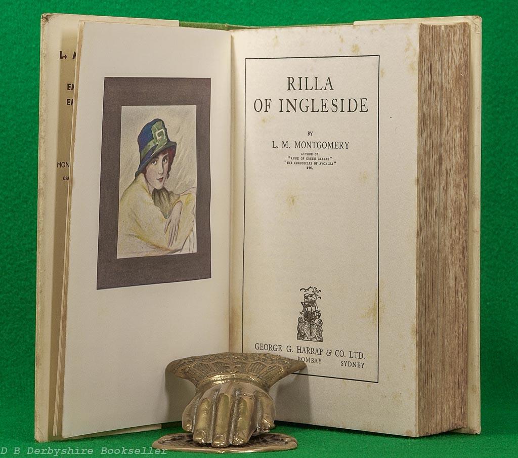 Rilla of Ingleside | L. M. Montgomery |Harrap, reprint 1933 | Anne of Green Gables