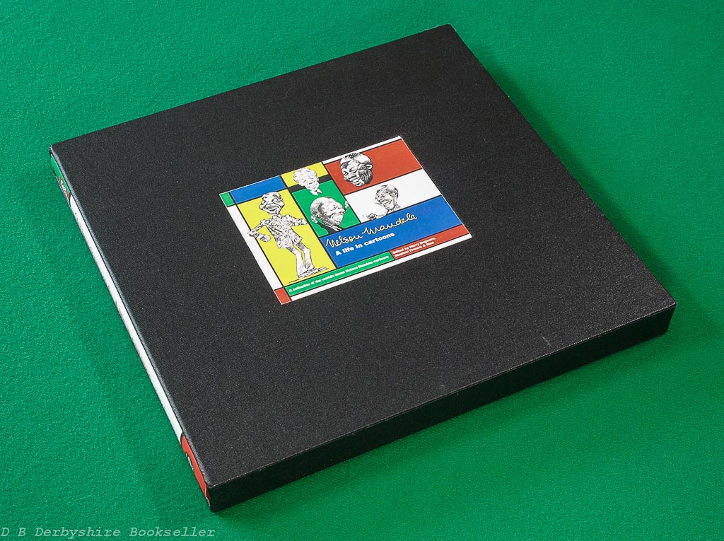 Nelson Mandela A Life in Cartoons | David Philip, 1st 1999 | signed by editors | in slipcase