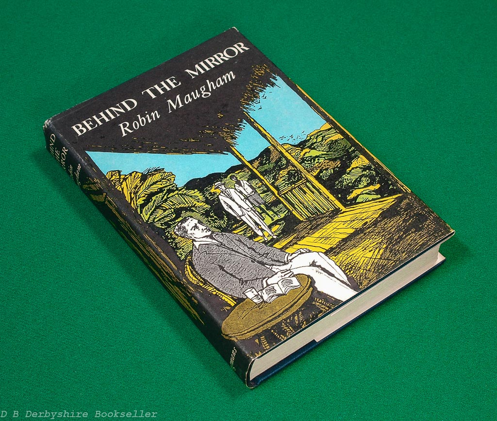 Behind the Mirror | Robin Maugham | Longmans, 1955 | Dustwrapper by John Minton