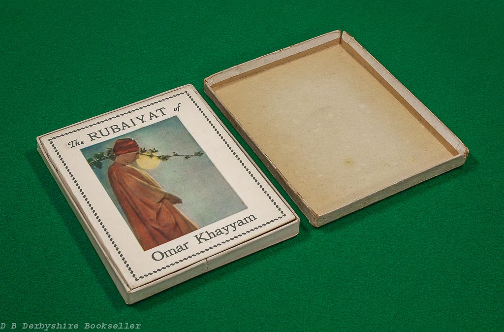 Rubaiyat of Omar Khayyam | Dodge Publishing, circa 1920s | Popular Edition in Box | illustrated by Adelaide Hanscom