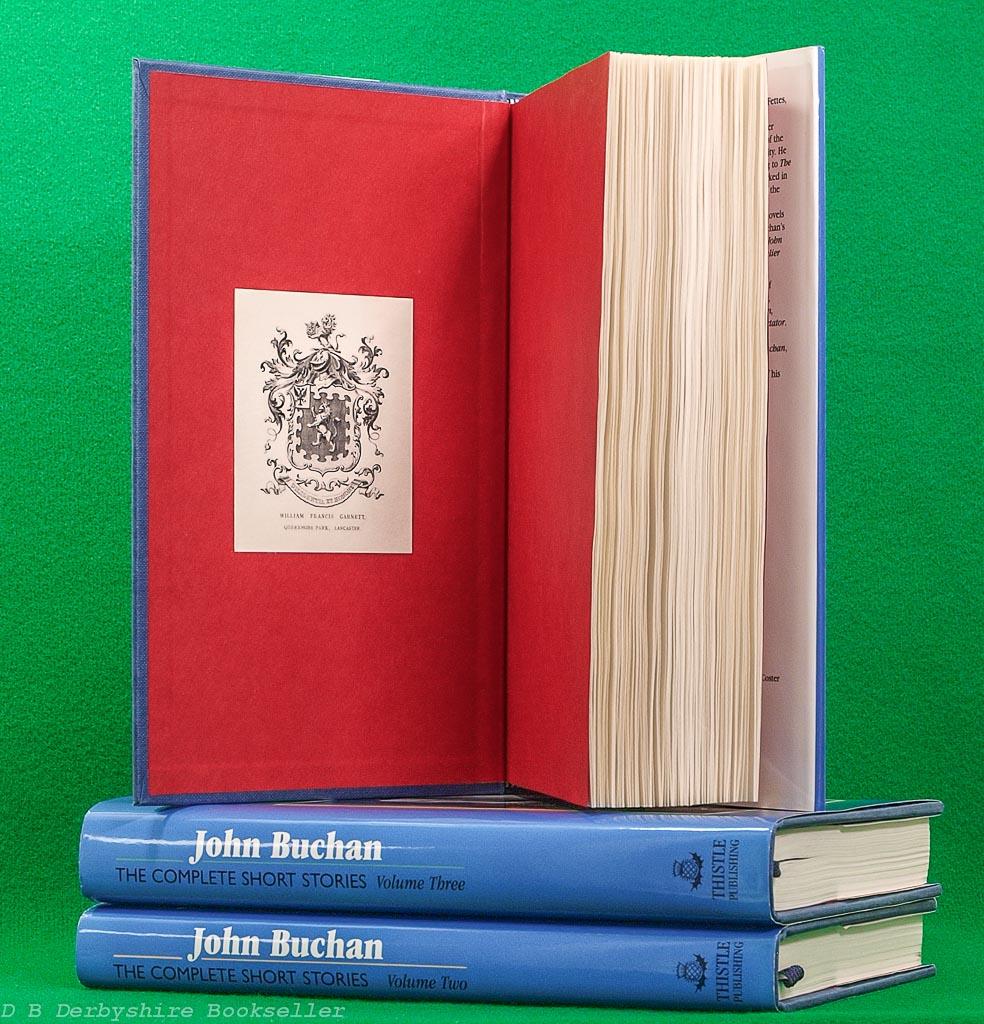John Buchan   The Complete Short Stories   Thistle Publishing   Three Volume Set