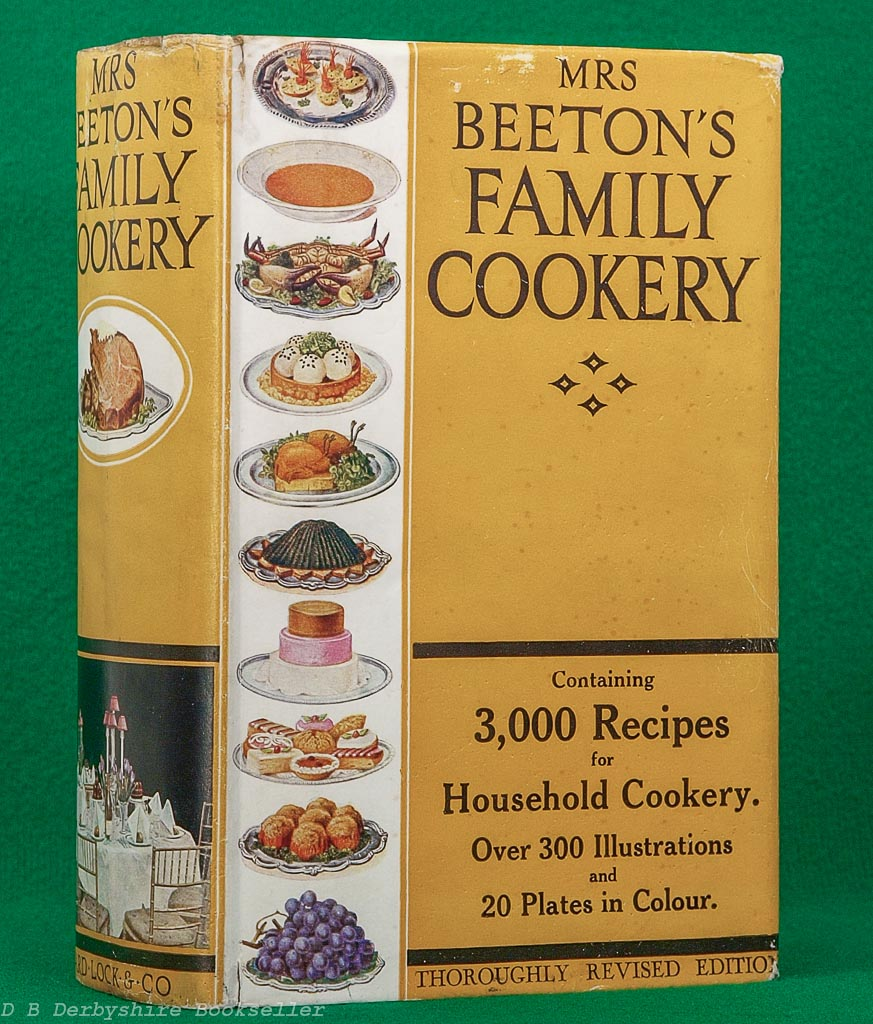 Mrs Beeton's Family Cookery | revised edition circa 1936/37