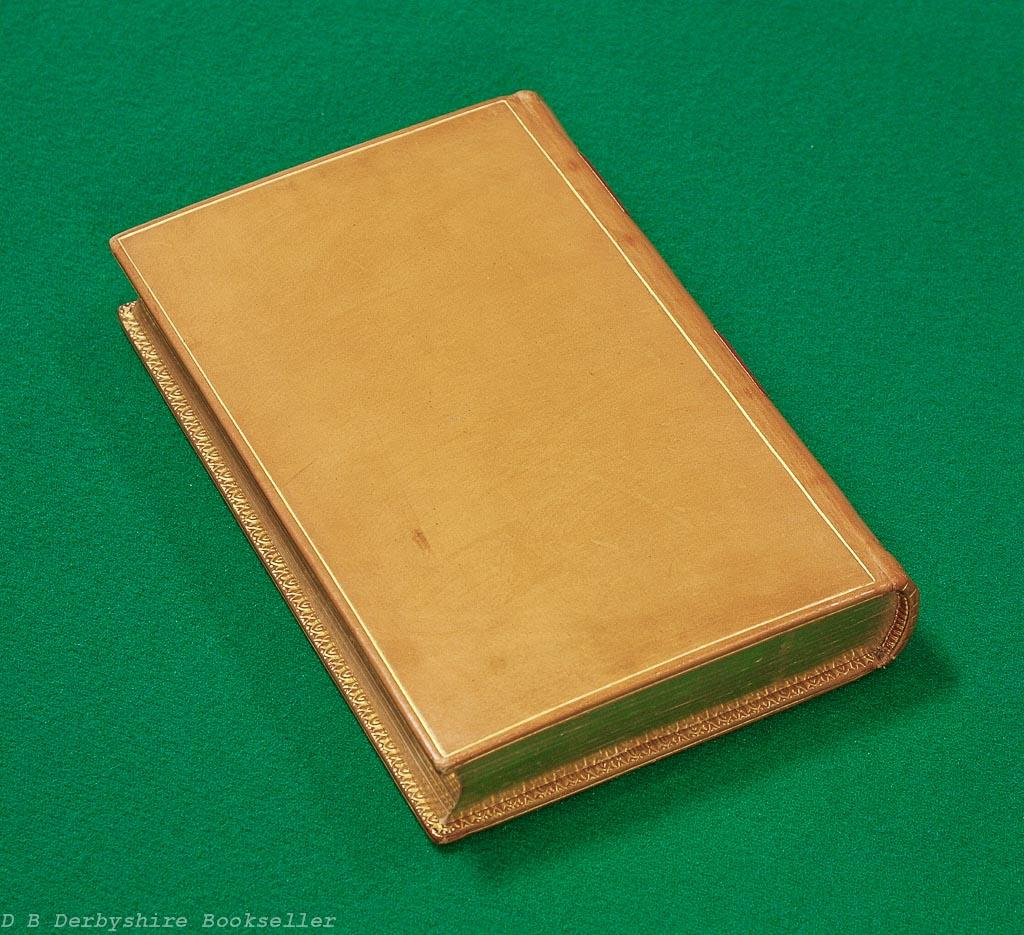 Rubaiyat of Omar Khayyam | David Nutt, 1889 | Full Leather Binding | Bound by Zaehnsdorf