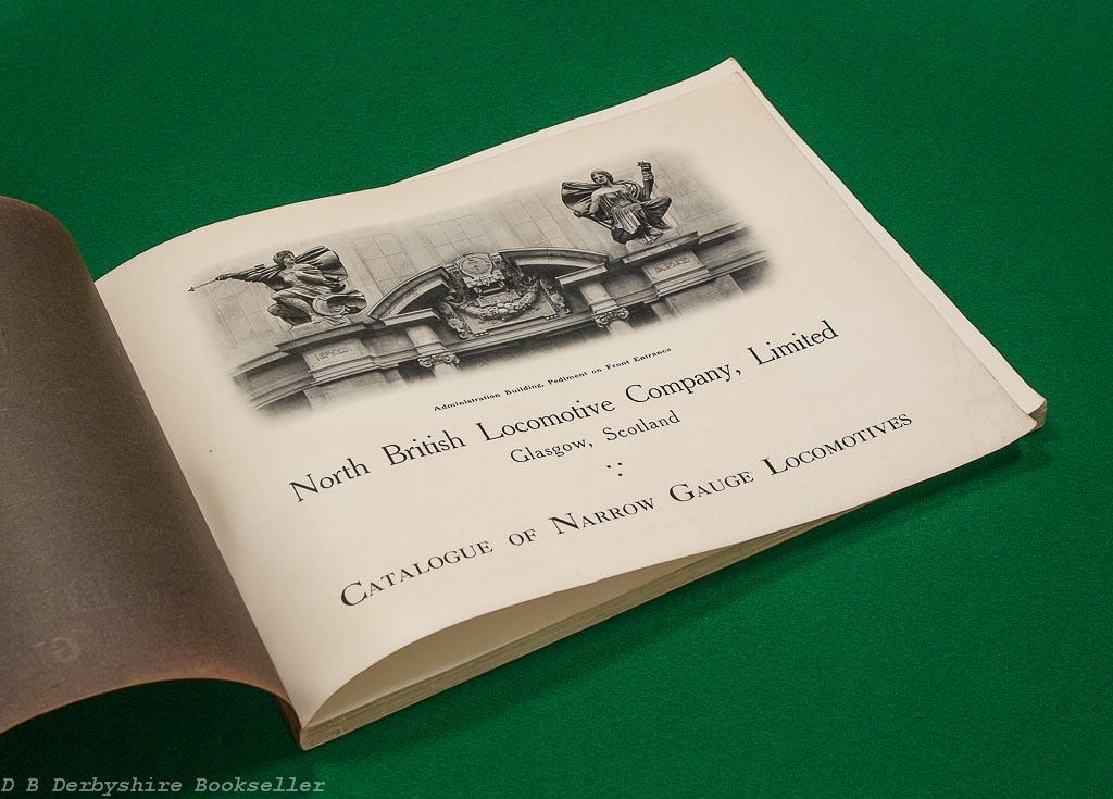Locomotives For Narrow Gauge Railways North British