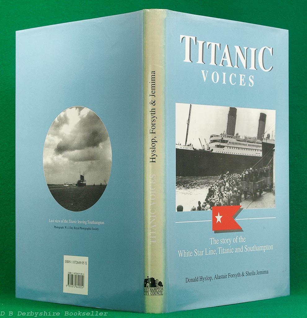 Titanic Voices | Southampton City Council, 1st edition 1994 | Signed by Millvina Dean