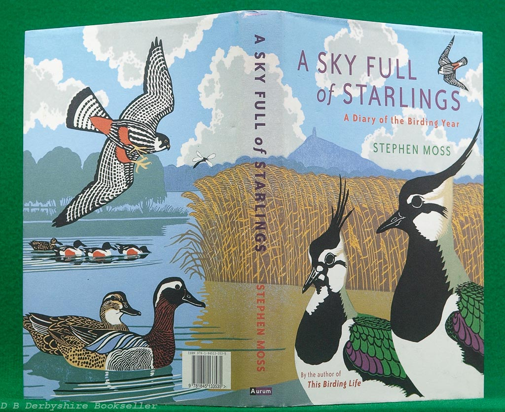 A Sky Full of Starlings | Stephen Moss | Aurum Press, 2nd printing 2008 | Signed