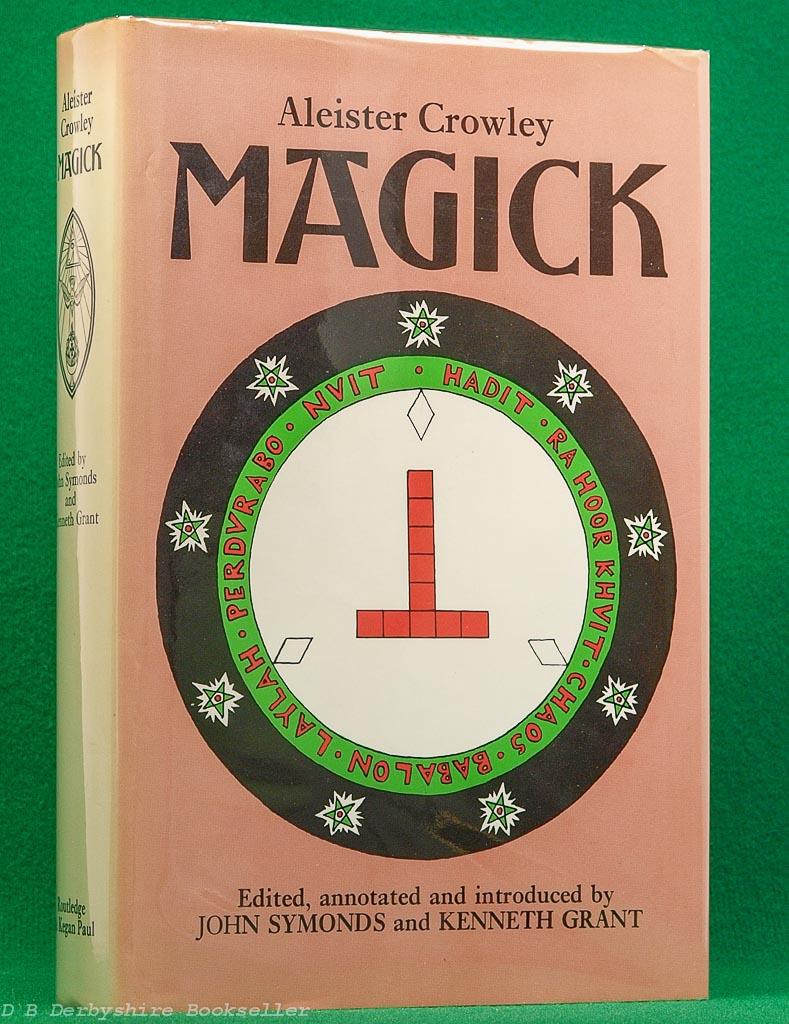 Magick | Aleister Crowley | Routledge & Kegan Paul, reprint 1985