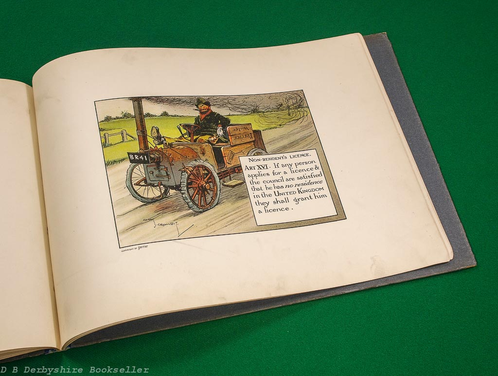 Motoritis or Other Interpretations of the Motor Act | Perrier | illustrated by Charles Crombie | 1906