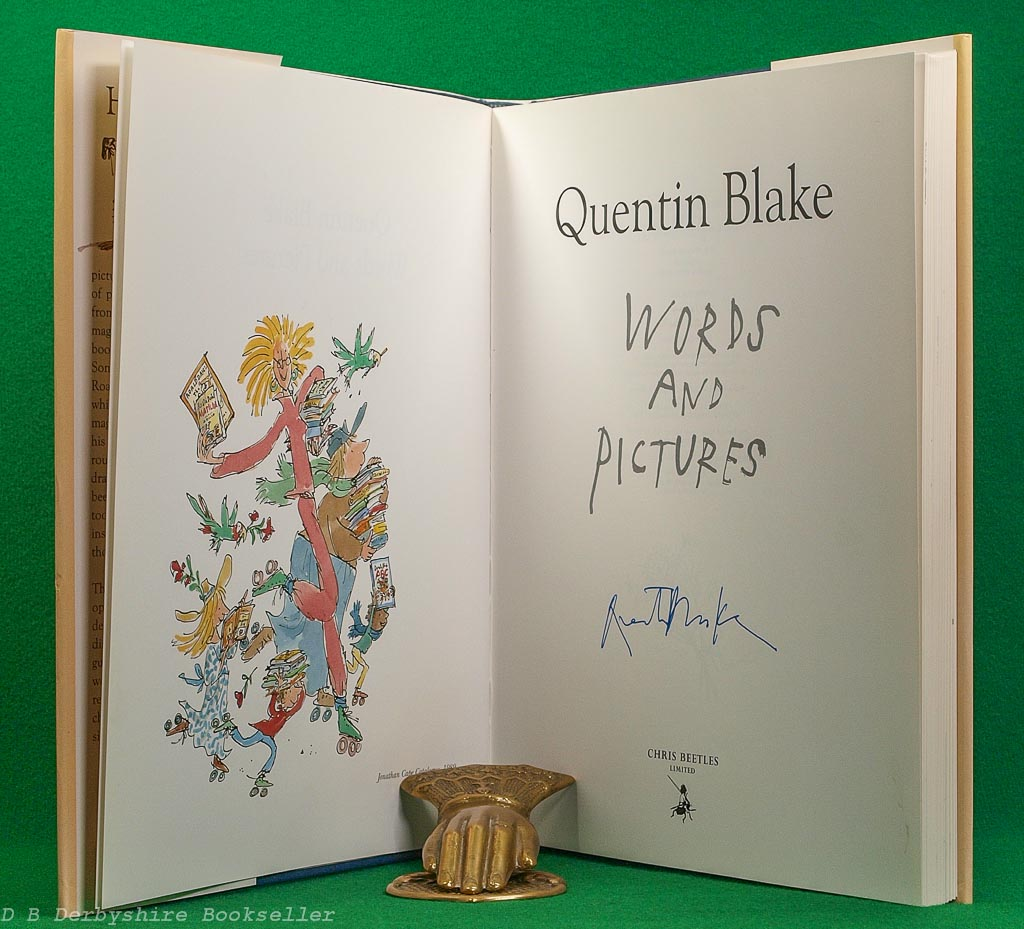 Words and Pictures | Quentin Blake | Chris Beetles, 2000 | Signed Limited Edition