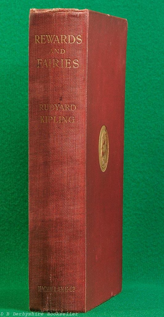 Rewards and Fairies | Rudyard Kipling |Macmillan, 1st edition 1910 | If