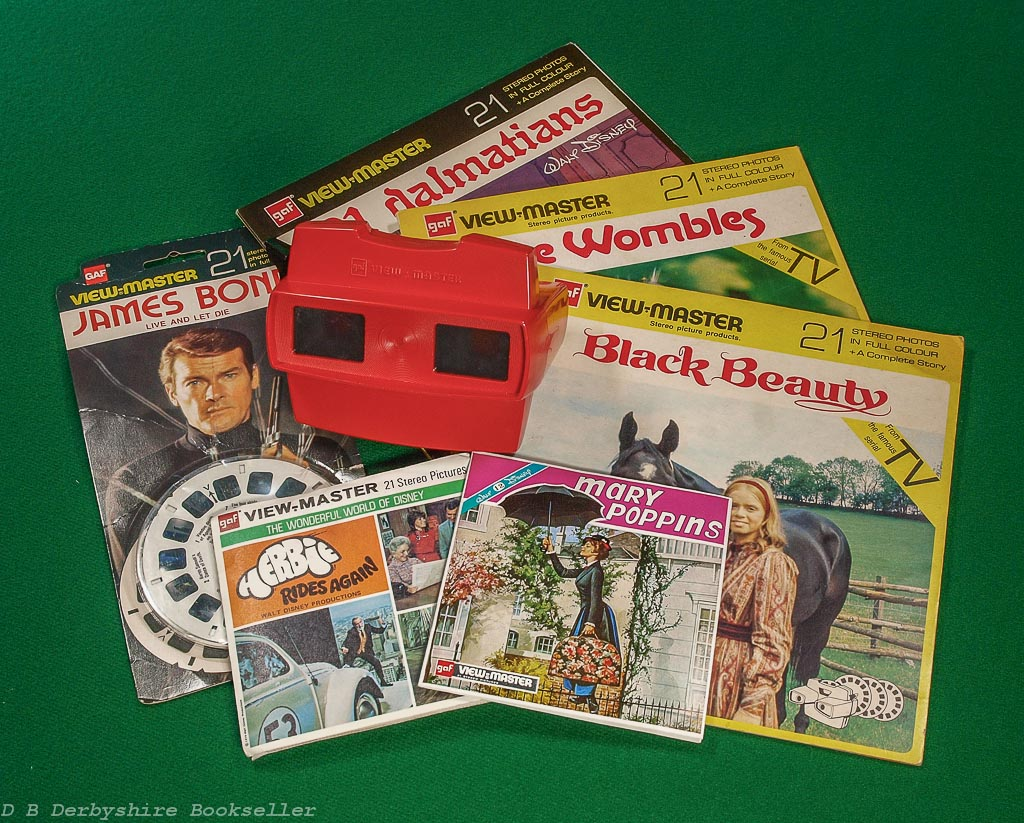 View-Master | Black Beauty | 101 Dalmatians | The Wombles | Mary Poppins | Herbie Rides Again | Live and Let Die