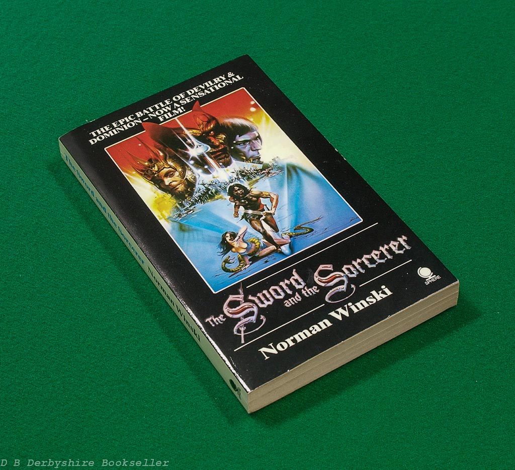 The Sword and the Sorcerer | Norman Winski | Sphere Books, 1st edition 1982