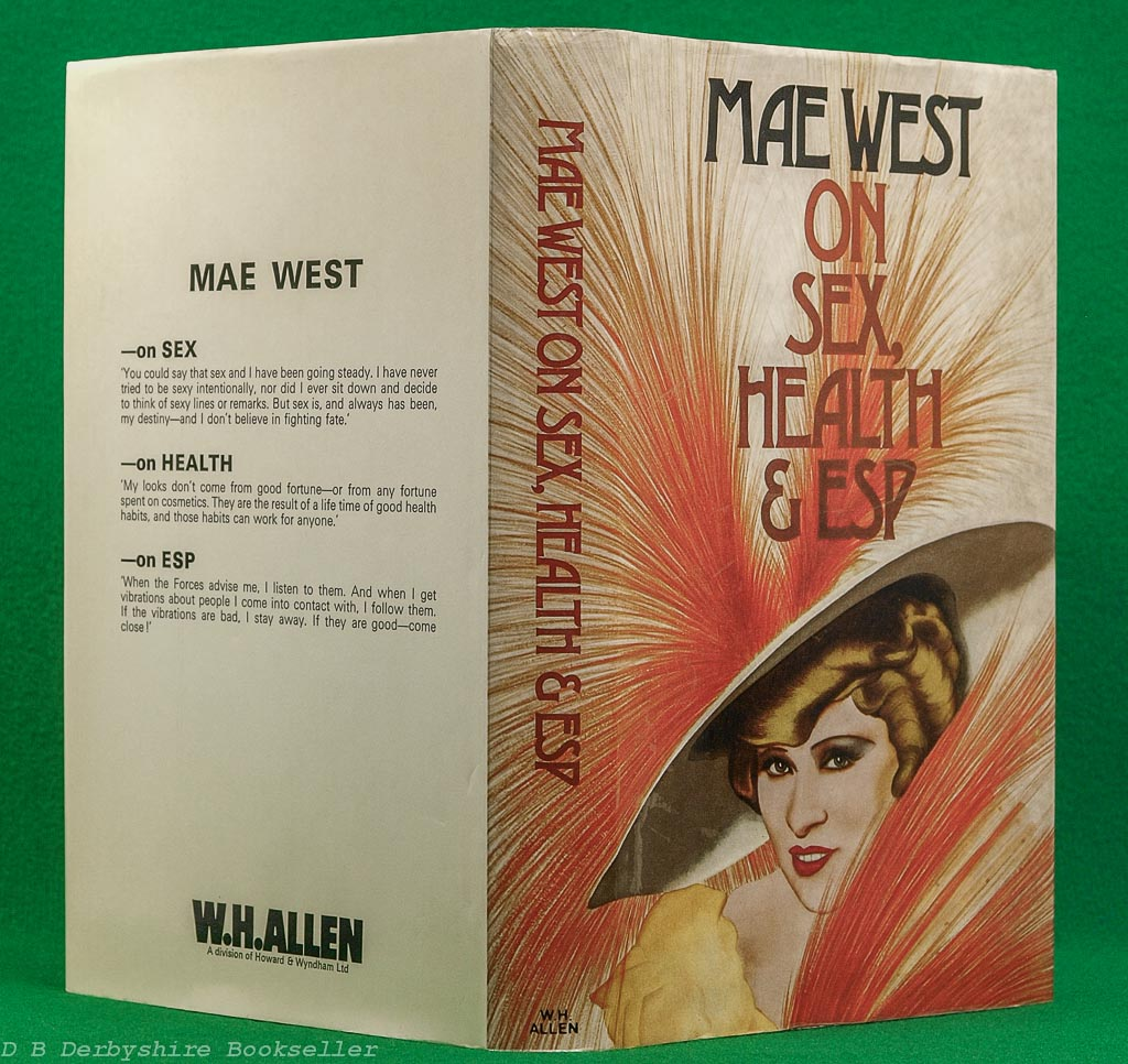 Mae West | On Sex, Health and ESP | W. H. Allen, 1st edition 1975