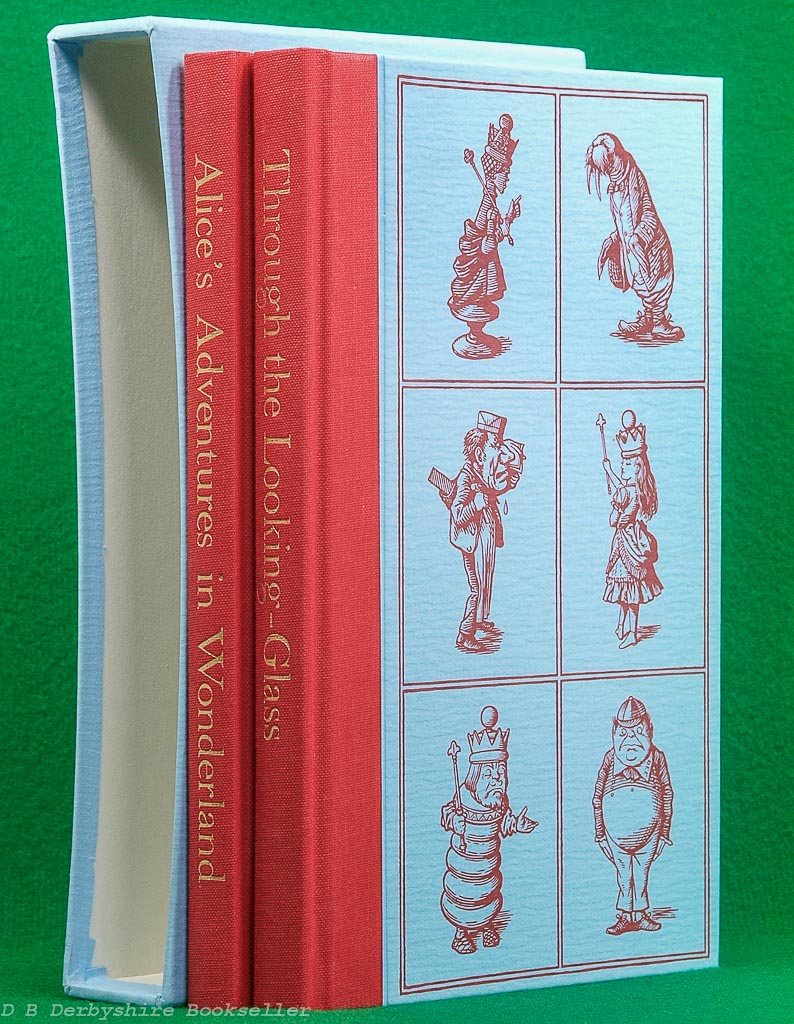 Alice's Adventures in Wonderland & Through the Looking Glass | Lewis Carroll | The Folio Society, 1993