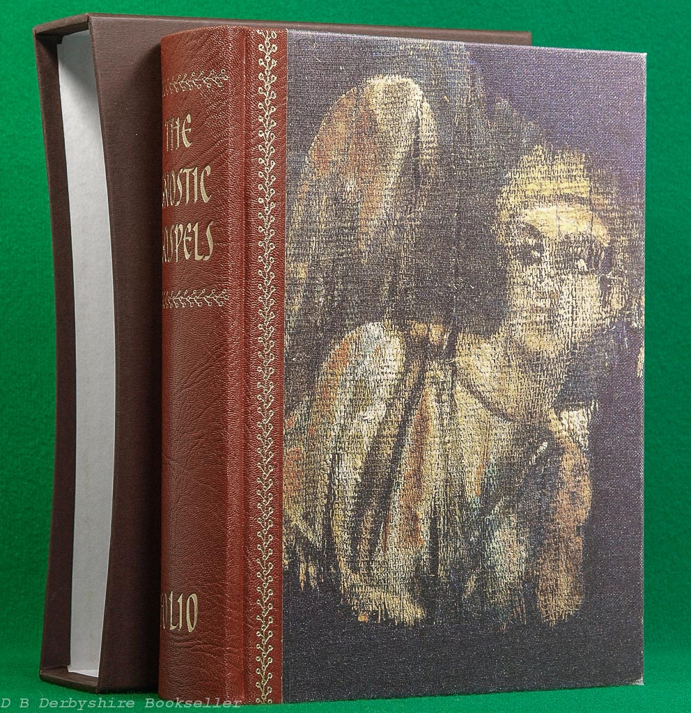 The Gnostic Gospels | Folio Society, 2007 | Quarter Leather Binding