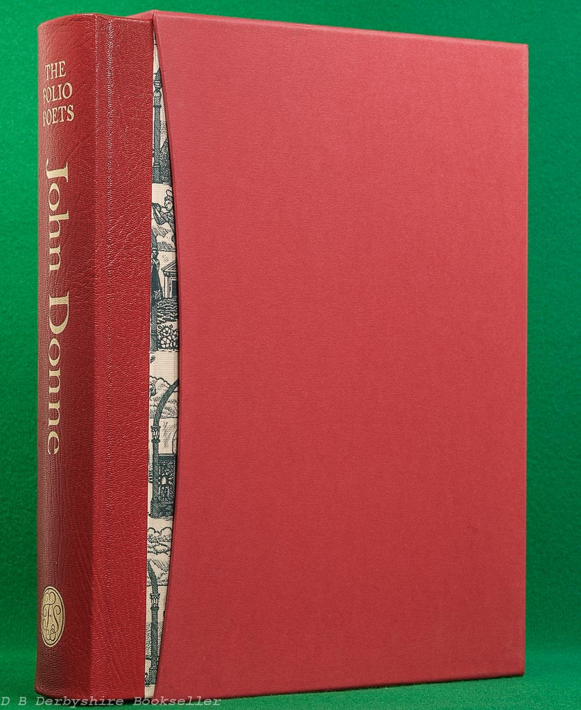 John Donne | The Complete English Poems | Folio Society, 2005 | engravings by Jane Lydbury