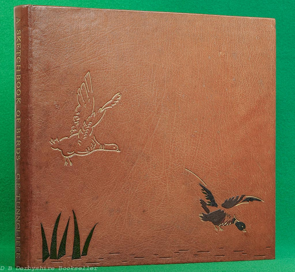 A Sketchbook of Birds | Charles Tunnicliffe | Leather Binding