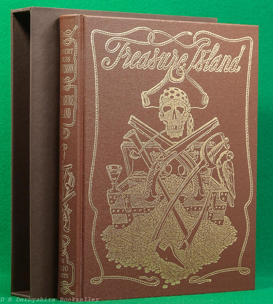 Treasure Island | Robert Louis Stevenson | Folio Society, 2006 | illustrated by Philip Bannister
