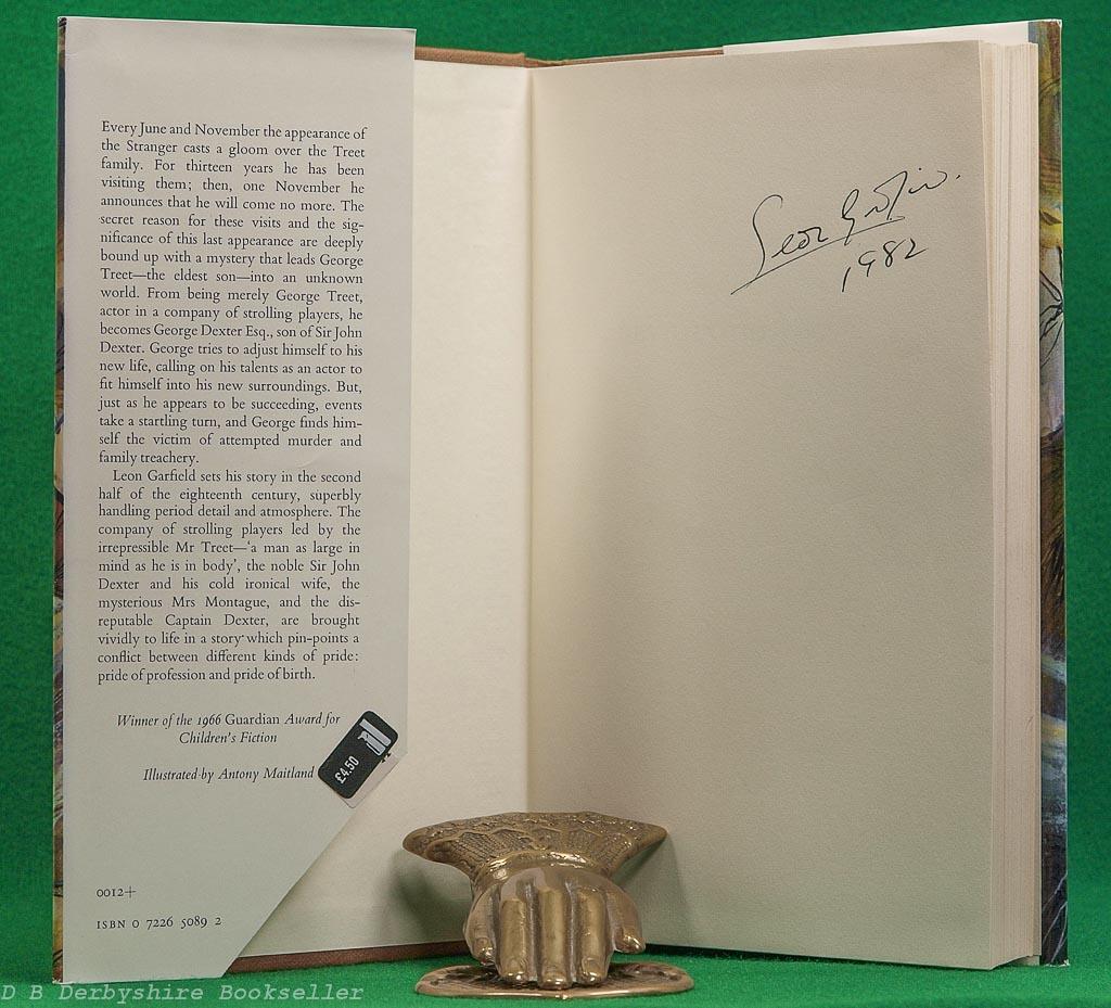Devil in the Fog | Leon Garfield | Kestrel Books, 1975 | Signed