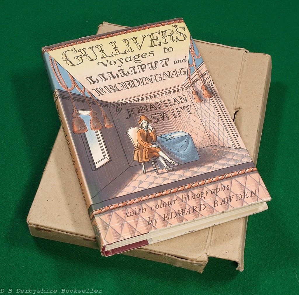 Gulliver's Voyages | Folio Society, 1948 | Edward Bawden