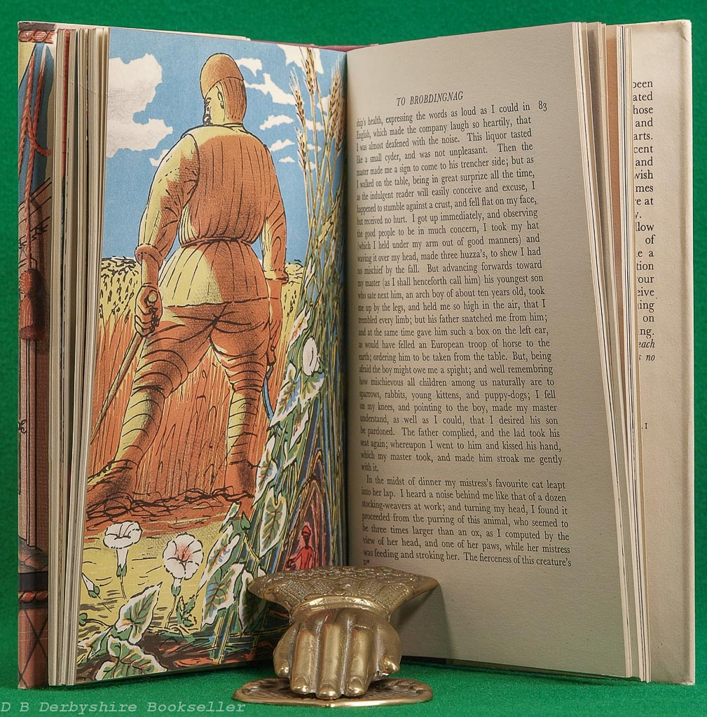 The Voyages of Gulliver | Jonathan Swift |Folio Society, 1948 | illustrated by Edward Bawden