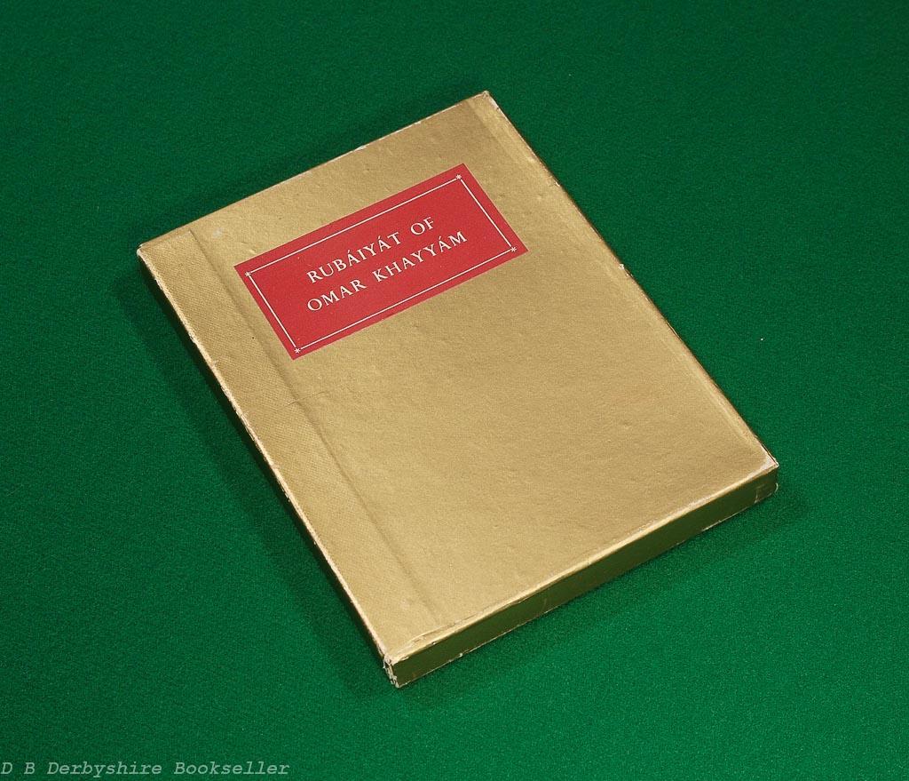 Rubaiyat of Omar Khayyam | Folio Society, 1959 | in clamshell box