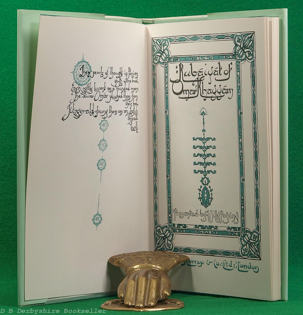 Rubaiyat of Omar Khayyam | Harrap, circa 1980s/90s | illustrated by Willy Pogany