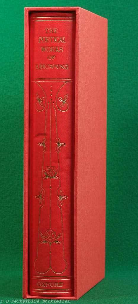 The Poetical Works of Robert Browning | Oxford, 1970 | in Slipcase