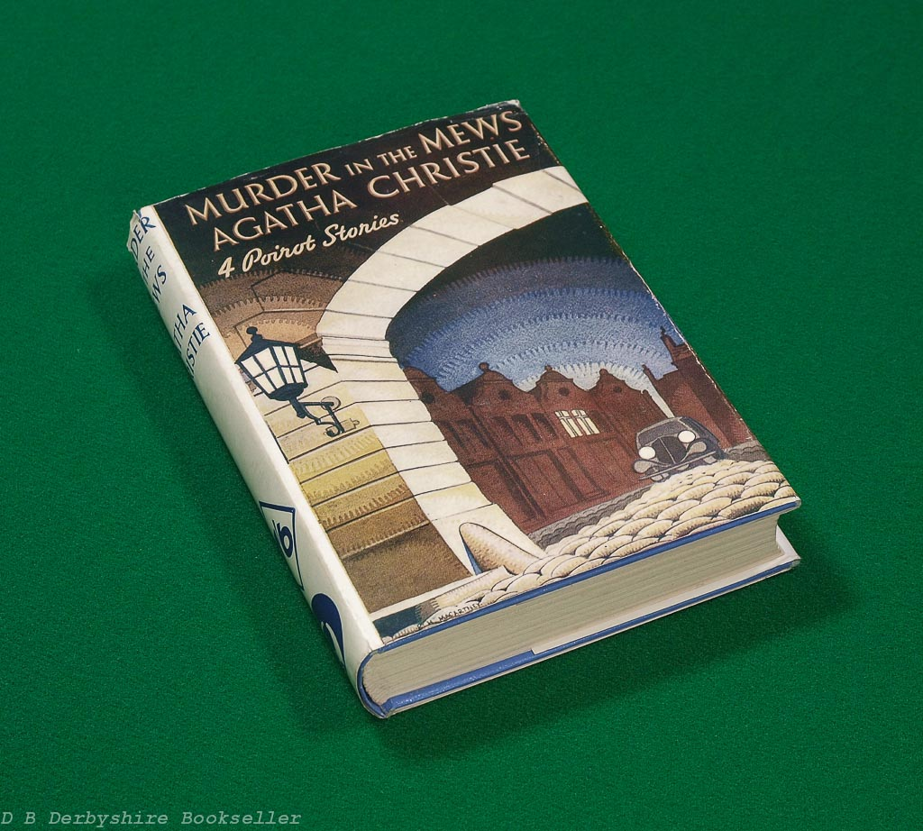 Murder in the Mews | Agatha Christie | Odhams, 1938 | with dustwrapper