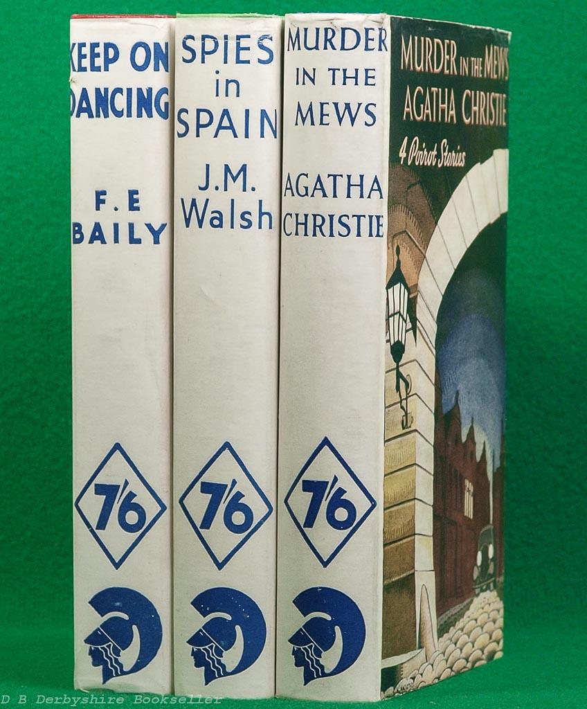 Murder in the Mews | Agatha Christie |Odhams, reprint 1938 | Hercule Poirot