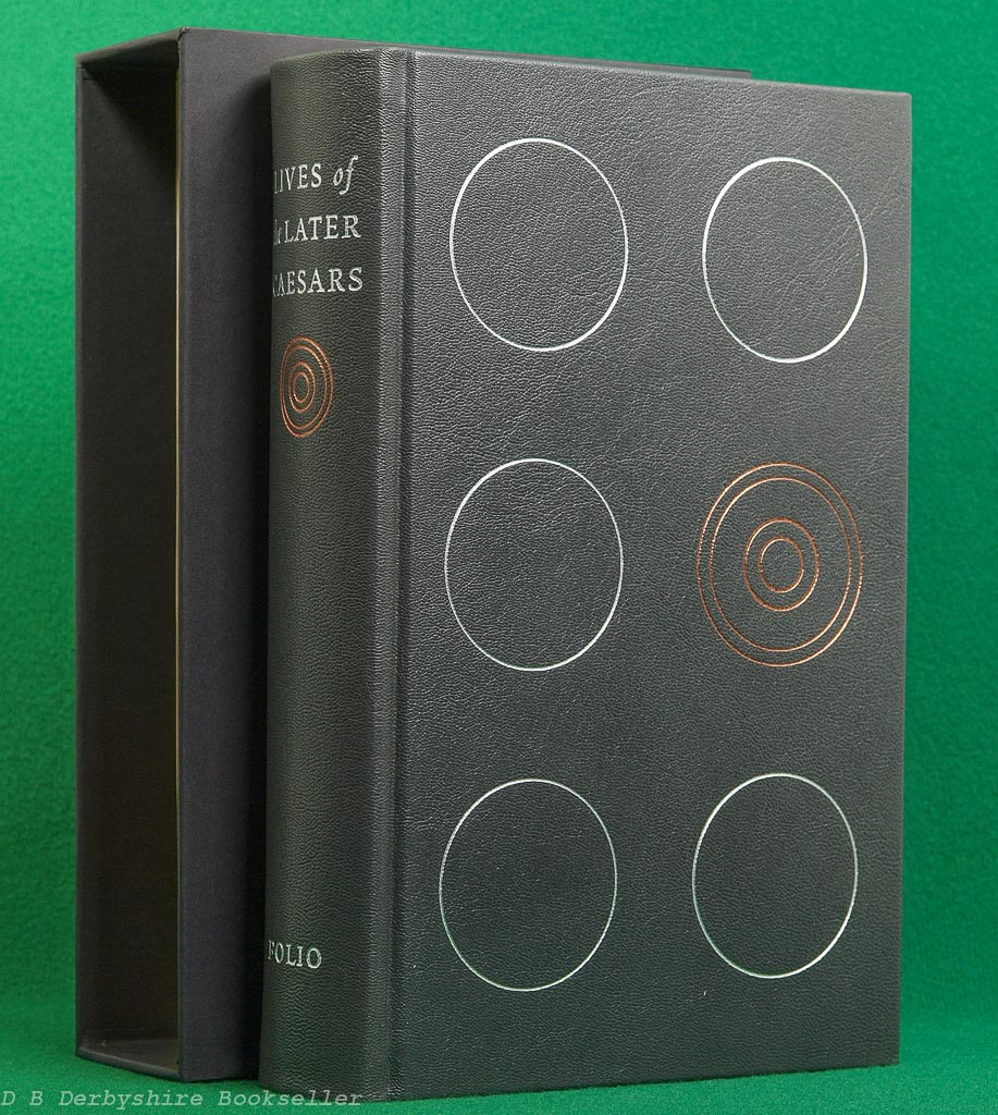 Lives of the Later Caesars | Folio Society, 2005 | Leather Binding
