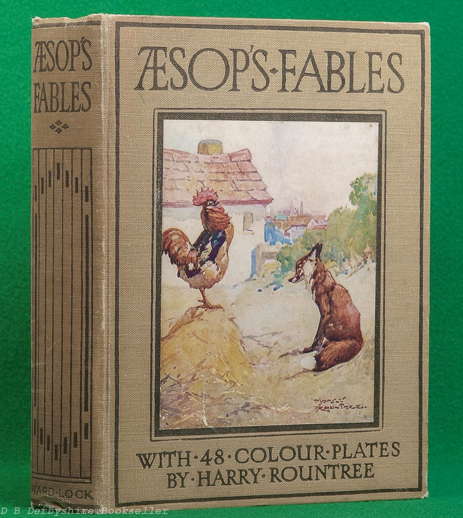 Aesop's Fables | retold by Blanche Winder | Ward Lock, circa 1930 | illustrated by Harry Rountree
