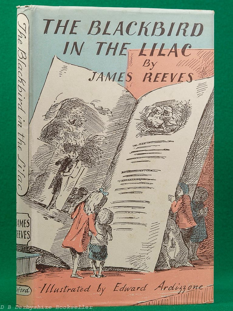 The Blackbird in the Lilac | James Reeves | 1952 | illustrated by Efdward Ardizzone